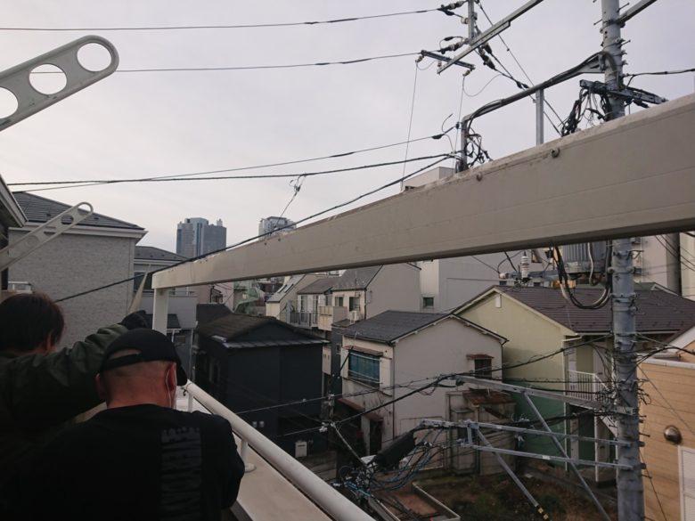 一つ目の屋根解体