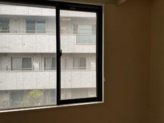窓用エアコン 後
