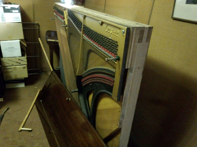 鍵盤の解体