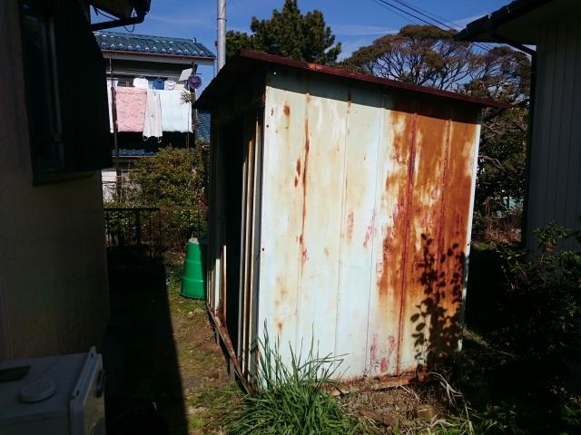横浜市中区 物置 残置物