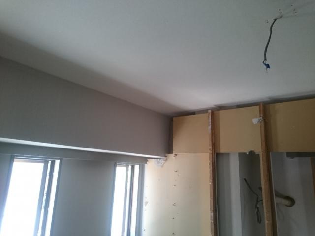 天井の解体後