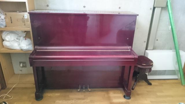 練馬区 地下 アップライトピアノ解体