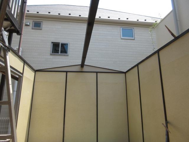 屋根の解体完了