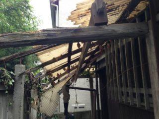 杉並区 屋根