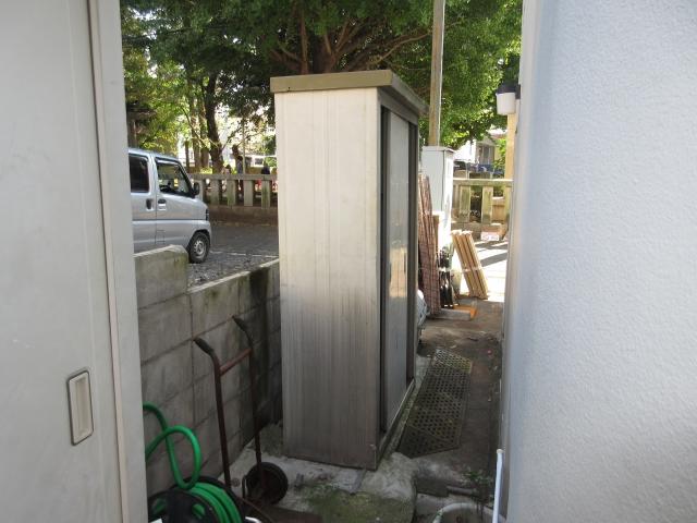 渋谷区 2個目の物置