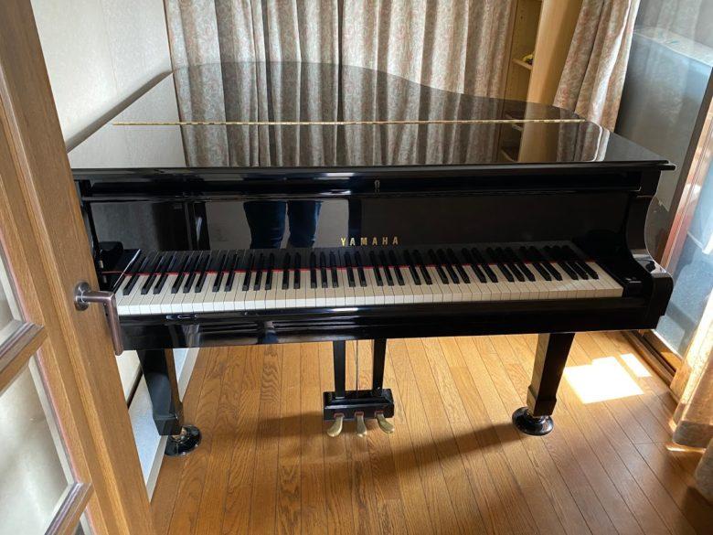グランドピアノ 防音室