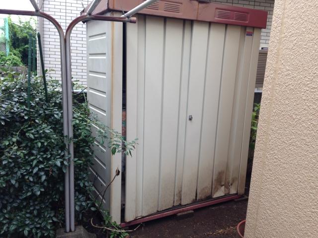 渋谷区 物置 残置物