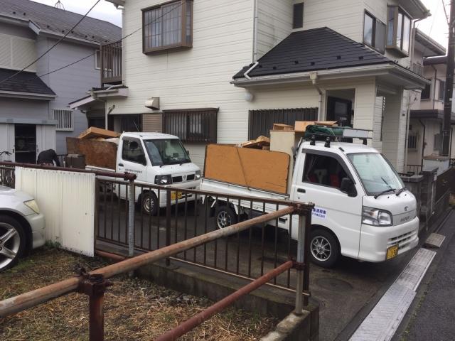 2台の軽トラック