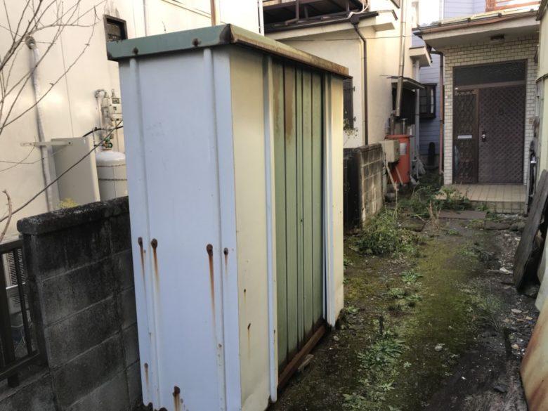 昭島市 物置 解体工事