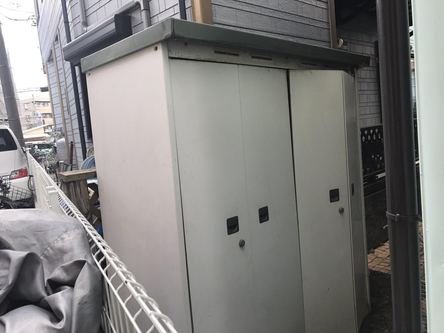 川崎市中原区 物置 残置物