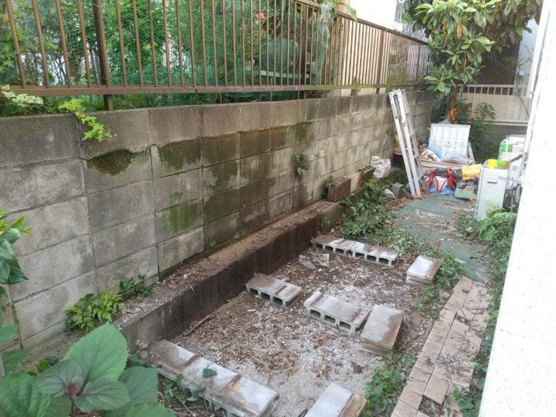 川崎市多摩区 物置解体終了