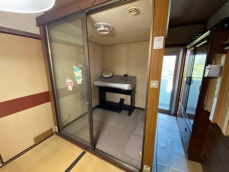 横浜市青葉区 防音室解体